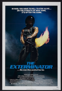 "The Exterminator (Avco Embassy, 1980). One Sheet (27"" X 41""). Action"