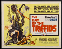 "The Day of the Triffids (Allied Artists, 1962). Half Sheet (22"" X 28""). Science Fiction"