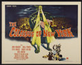 "Movie Posters:Science Fiction, The Colossus of New York (Paramount, 1958). Half Sheet (22"" X 28"").Science Fiction...."