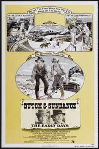 """Butch and Sundance: The Early Days (20th Century Fox, 1979). One Sheet (27"""" X 41""""). Western"""