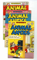 Golden Age (1938-1955):Funny Animal, Movietown's Animal Antics Group (DC, 1952-53).... (Total: 3 ComicBooks)
