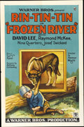 "Movie Posters:Adventure, Frozen River (Warner Brothers, 1929). One Sheet (27"" X 41"")...."