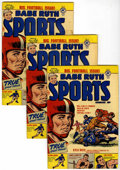 Golden Age (1938-1955):Non-Fiction, Babe Ruth Sports Comics #10 Multiple Copies Group (Harvey, 1950)Condition: Average VG.... (Total: 8 Comic Books)