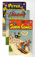 Golden Age (1938-1955):Funny Animal, DC Golden Age - Funny Animal Group (DC, 1953).... (Total: 3 ComicBooks)