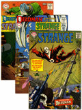 Silver Age (1956-1969):Science Fiction, Strange Adventures Group (DC, 1967-73) Condition: Average VF.... (Total: 12 Comic Books)