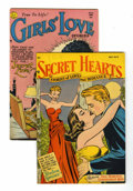 Golden Age (1938-1955):Romance, DC Golden Age Romance Group (DC, 1952).... (Total: 2 Comic Books)