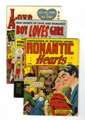 Golden Age (1938-1955):Romance, Romance Comics Group (Various, 1952-53).... (Total: 4 Comic Books)