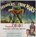 "Movie Posters:Science Fiction, Invaders From Mars (20th Century Fox, 1953). Six Sheet (81"" X81"")...."