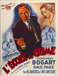 "Movie Posters:Crime, Crime School (Warner Brothers, 1938). French Grande (47"" X 63"")...."
