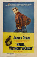 "Movie Posters:Drama, Rebel Without a Cause (Warner Brothers, 1955). Poster (40"" X 60"")Style Z...."