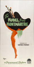 "Movie Posters:Drama, The Model from Montmartre(Paramount, 1926). Three Sheet (41"" X81"")...."