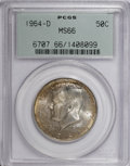 Kennedy Half Dollars: , 1964-D 50C MS66 PCGS. PCGS Population (383/30). NGC Census:(93/11). Mintage: 156,205,440. Numismedia Wsl. Price for NGC/PC...