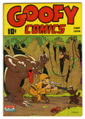 Golden Age (1938-1955):Funny Animal, Goofy Comics #1 (Nedor Publications, 1943) Condition: FN+....