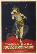 "Movie Posters:Drama, Salome (Fox, 1918). One Sheet (28"" X 41"")...."