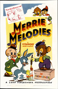 "Merrie Melodies (Warner Brothers, 1940-41). One Sheet (27"" X 41"")"