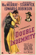 "Movie Posters:Film Noir, Double Indemnity (Paramount, 1944). One Sheet (27"" X 41"")...."