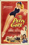 """Movie Posters:Comedy, The Petty Girl (Columbia, 1950). One Sheet (27"""" X 41"""")...."""