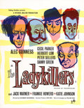 "Movie Posters:Comedy, The Ladykillers (Ealing, 1955). British Crown (17"" X 22"")...."
