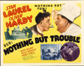 """Movie Posters:Comedy, Nothing But Trouble (MGM, 1944). Half Sheet (22"""" X 28"""") Style B...."""
