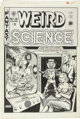 Al Feldstein Weird Science #15 (#4) Cover Original Art (EC, 1950)