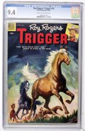 Golden Age (1938-1955):Western, Roy Rogers' Trigger #16 (Dell, 1955) CGC NM 9.4 Cream to off-white pages....