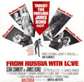 "Movie Posters:James Bond, From Russia with Love (United Artists, 1964). Six Sheet (81"" X81"")...."