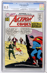 Action Comics #287 (DC, 1962) CGC VF+ 8.5 Cream to off-white pages
