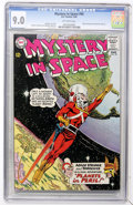 Silver Age (1956-1969):Science Fiction, Mystery in Space #90 (DC, 1964) CGC VF/NM 9.0 Off-white pages....