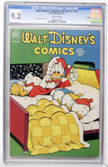 Golden Age (1938-1955):Cartoon Character, Walt Disney's Comics and Stories #137 File Copy (Dell, 1952) CGCNM- 9.2 Off-white pages....