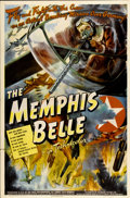 "Movie Posters:War, The Memphis Belle (Paramount, 1944). One Sheet (27"" X 41"") StyleA...."
