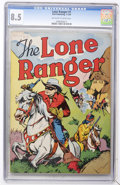 Golden Age (1938-1955):Western, Lone Ranger #1 (Dell, 1948) CGC VF+ 8.5 Off-white to whitepages....