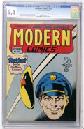 Golden Age (1938-1955):War, Modern Comics #53 (Quality, 1946) CGC NM 9.4 Cream to off-whitepages....