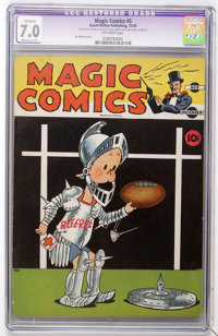 Magic Comics #5 (David McKay Publications, 1939) CGC Apparent FN/VF 7.0 Moderate (P) Off-white pages