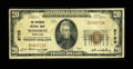 National Bank Notes:Maryland, Woodbine, MD - $20 1929 Ty. 1 The Woodbine NB Ch. # 8799. ...