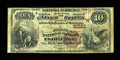 National Bank Notes:Colorado, Florence, CO - $10 1882 Brown Back Fr. 490 The First NB Ch. #(W)5381. ...