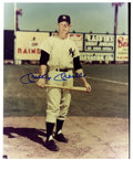 "Autographs:Photos, Mickey Mantle Signed 8"" x 10"" photo..."