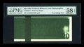 Error Notes:Ink Smears, Fr. 2083-C $20 1996 Federal Reserve Note. PMG Choice About Unc 58EPQ.. ...