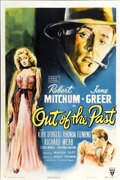 "Movie Posters:Film Noir, Out of the Past (RKO, 1947). One Sheet (27"" X 41"")...."