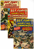 Silver Age (1956-1969):War, Sgt. Fury and His Howling Commandos Group (Marvel, 1964-69)....(Total: 8 Comic Books)