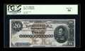 Large Size:Silver Certificates, Fr. 311 $20 1880 Silver Certificate PCGS About New 50....