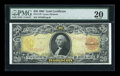 Large Size:Gold Certificates, Fr. 1179 $20 1905 Gold Certificate PMG Very Fine 20....