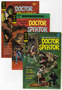 Occult Files of Doctor Spektor Group (Gold Key, 1973-82) Condition: Average VF/NM.... (Total: 5 Comic Books)