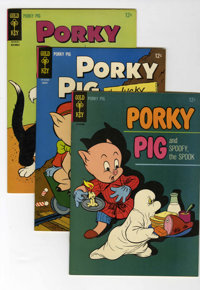 Porky Pig Group (Gold Key, 1965-82) Condition: Average NM-