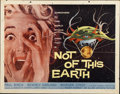 "Movie Posters:Science Fiction, Not of this Earth (Allied Artists, 1957). Half Sheet (22"" X28"")...."