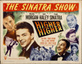 "Movie Posters:Musical, Higher and Higher (RKO, 1943). Half Sheet (22"" X 28"") Style A...."