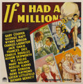 "Movie Posters:Comedy, If I Had a Million (Paramount, 1932). Six Sheet (81"" X 81"")...."