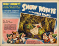 "Movie Posters:Animated, Snow White and the Seven Dwarfs (RKO, 1937). Half Sheet (22"" X 28"")Style A...."