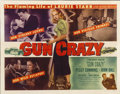 "Movie Posters:Film Noir, Gun Crazy (United Artists, 1949). Half Sheet (22"" X 28"")...."