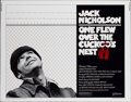 "Movie Posters:Academy Award Winner, One Flew Over the Cuckoo's Nest (United Artists, 1975). Half Sheet(22"" X 28"")...."
