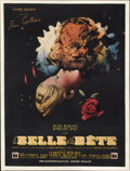 "Movie Posters:Drama, Beauty and the Beast (DisCina, 1946). French Petite (23.5"" X 31.5"")...."